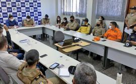 Órgãos de segurança e fiscalização do Governo do Tocantins alinham ações da operação Tolerância Zero na Capital e em Luzimangues