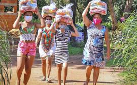 Governo do Tocantins inicia entrega de kits de alimentos para famílias do Vale do Araguaia