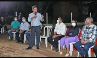 A convite do Vice-Governador, Presidente do Itertins faz visita a região de chácaras do Taquari.