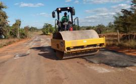 Governo do Tocantins realiza manutenção em rodovias na região de Araguaína