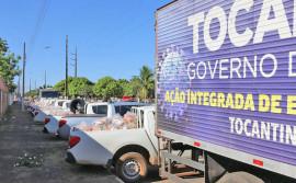 Governo do Tocantins promove força-tarefa para entrega de 4 mil kits de alimentos às famílias rurais do Vale do Araguaia