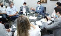 Vice-governador do Tocantins discute desburocratização da Lei de Licenciamento Ambiental com secretários de Estado