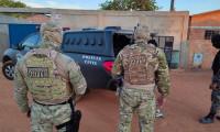Homens suspeitos pela prática de crimes diversos são presos pela Polícia Civil em Luzimangues