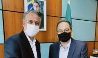 Em Brasília, Jaime Café e César Halum reforçam apoio às secretarias municipais de agricultura do Tocantins
