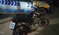 Polícia Militar recupera moto com restrição roubo em Lagoa da Confusão