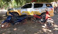 PM recupera duas motocicletas com restrição de furto/roubo na região norte do Estado