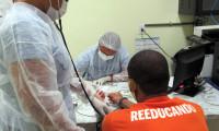Unidade Penal de Cariri realiza semana de prevenção a doenças de pele para custodiados