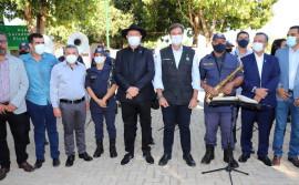 Acompanhado do ministro do Turismo, governador Carlesse recebe comenda e prestigia comemorações do aniversário de Porto Nacional