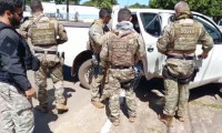 """No norte do Estado, Polícia Civil deflagra mais uma etapa da operação """"Hórus"""" e prende cinco pessoas por tráfico de drogas e crimes diversos"""