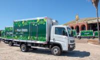 Prefeitos ressaltam importância da entrega de 19 caminhões oriundos de convênio entre Ministério da Cidadania e Governo do Tocantins