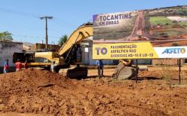 Governo do Tocantins inicia obras na parte sul da Avenida NS-15, em Palmas
