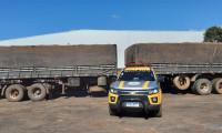 Policiais militares recuperam dois semirreboques com sinais de adulteração na TO-222 em Araguaína
