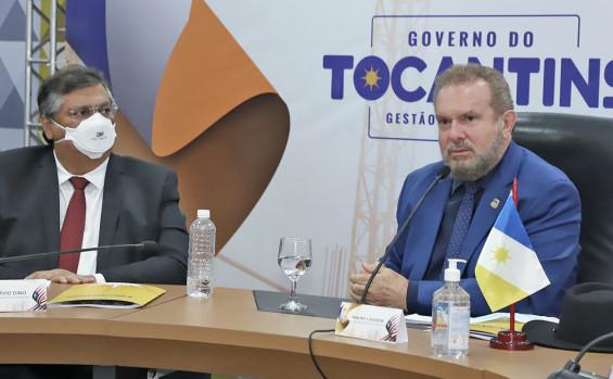 Governadores Carlesse e Flávio Dino definem ações para integração geopolítica dos Estados do TO e do MA