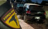 Em menos de uma hora, veículo roubado em Formoso do Araguaia é recuperado pela PM em Gurupi