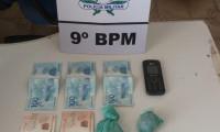 Suspeito de tráfico interestadual de entorpecentes é preso pela PM em Axixá