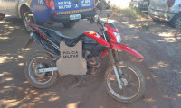 Polícia Militar recupera duas motocicletas com registro de furto e roubo na região sul do Tocantins