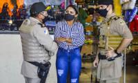 Polícia Militar realiza operação no terminal rodoviário de Palmas