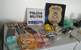Operação Integrada entre polícias Militar e Civil resulta na prisão de seis suspeitos e na apreensão de veículos, drogas e armas