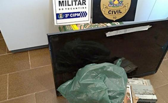 Operação Integrada entre polícias Militar e Civil resulta na prisão de seis suspeitos, apreensão de veículos, drogas e armas