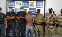 Polícia Militar prende suspeito de tentativa de homicídio em Taipas
