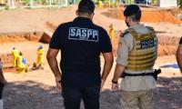 Unidade Penal de Palmas recebe visita do 1º Batalhão da Polícia Militar