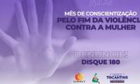 """Saúde alerta para combate à violência contra a mulher durante """"Agosto Lilás"""""""