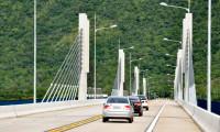 Governo do Tocantins instala iluminação de LED na ponte de Lajeado