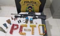 Em Taguatinga, Polícia Civil apreende centenas de munições, arma de fogo e prende homem por tráfico de armas