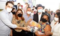 Governo do Tocantins inicia terceira etapa da entrega de kits de alimentos para estudantes da rede estadual em Araguaína