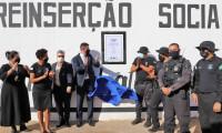 Sistema Penal inaugura Espaço Multiuso para atividades de trabalho e Fábrica de Artefatos de Concreto na Unidade de Palmas