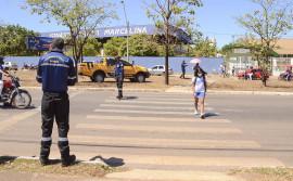 Detran promove ações para orientar motoristas e pedestres na volta às aulas em Palmas