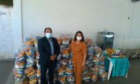 Governo do Tocantins atende municípios da região sul com 11 toneladas em cestas básicas