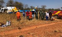 Ciopaer auxilia no combate ao incêndio na Serra da Traíra