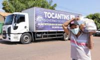 Governo do Tocantins atende 44 municípios com mais de 150 toneladas de alimentos