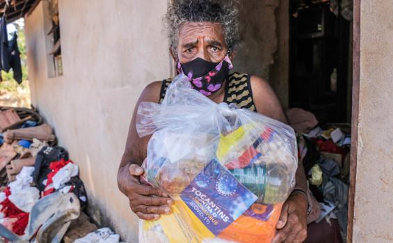Governo do Tocantins entrega 100 toneladas de alimentos em 34 cidades tocantinenses