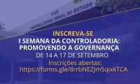 Governo do Tocantins abre inscrições para a 1ª Semana da Controladoria: promovendo a governança