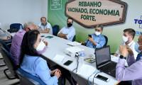 Grupo gestor reúne-se para avaliar e traçar metas no plano estratégico de retirada da vacinação contra a febre aftosa