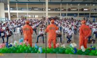 Corpo de Bombeiros Militar inicia gestão compartilhada da maior Escola de Tempo Integral do Tocantins