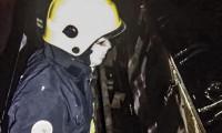 Babaçulância: bombeiros militares são acionados para combater fogo em locomotiva