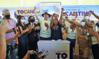 """""""É um privilégio poder devolver o direito à terra para a Comunidade Barra do Aroeira"""", afirma o governador Carlesse"""