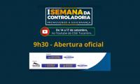 Governo do Tocantins abre oficialmente I Semana da Controladoria nesta terça, 14