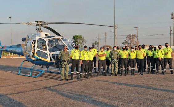 Centro Integrado de Operações Aéreas promove treinamento para agentes da Secretaria Municipal de Trânsito de Palmas