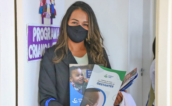 Governo do Tocantins acompanhou mais de 8 mil famílias em 2021 por meio do Programa Criança Feliz