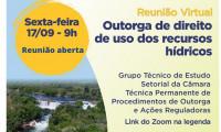 Comunicado: Reunião debate outorga de direito de uso dos recursos hídricos com representantes da UFT, CREA e IFTO