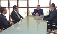 Governador Mauro Carlesse apresenta projetos para financiamento de obras do Tocantins a vice-presidente do Banco do Brasil