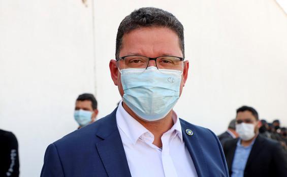 Governador Carlesse apresenta instalações da Unidade Penal de Palmas à comitiva do Estado de Rondônia