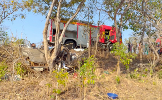 Corpo de Bombeiros Militar atende ocorrências de acidentes de trânsito em cinco municípios, no final de semana