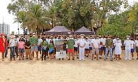 Em parceria, órgãos palmenses realizam blitz educativa em seis praias da Capital
