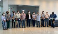Equipe do Tocantins realiza visitas técnicas a projetos agrícolas desenvolvidos no Estado de Goiás