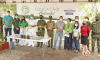Secretaria do Meio Ambiente e parceiros realizam doação de 3,5 mil mudas e 3 mil sementes